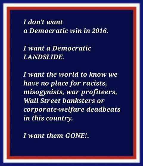 Bernie Sanders is the ONLY candidate who can do this!  He beats EVERY republican in the national polls, while Hillary either ties or loses!