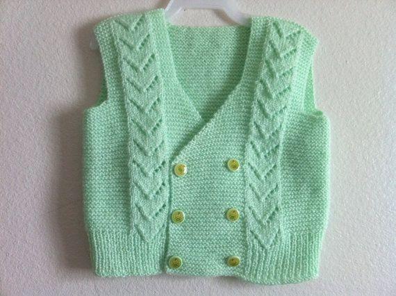 Baby vest knitting - Google'da Ara