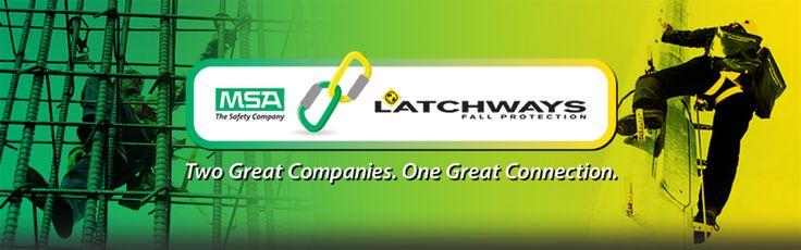 la force de la rencontre de 2 géants de la sécurité industrielle : MSA - The Safety Company fabricant de solutions complètes de protection (casques, détection gaz, ARI...) et LACHTWAYS spécialiste de l'antichute.