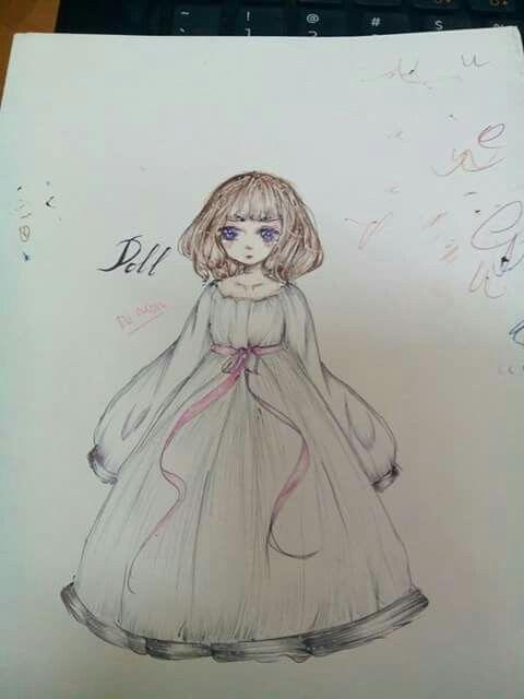 #oc #doll #ten_color_pen