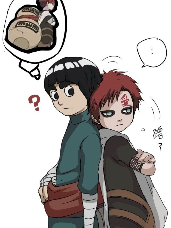 25+ Best Ideas about Rock Lee on Pinterest | Rock lee ... Gaara And Lee