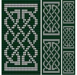 Celtic Knot 1. Loom, Sova Enterprises