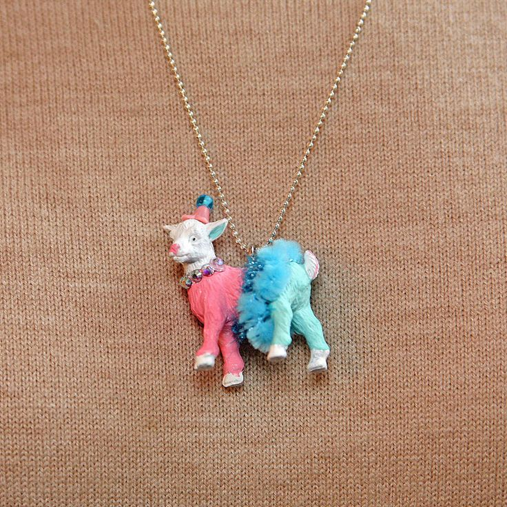 Anthro Inspired Party Animal Necklaces
