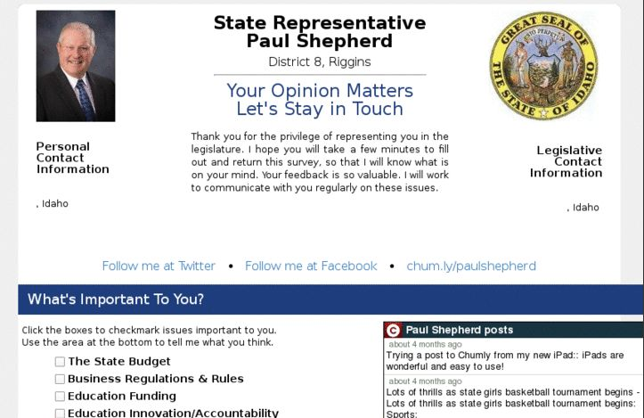 Activists Turned an Anti-Gay Politician's Website into an LGBT Resource | Motherboard