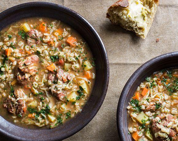 Recipe | Lamb & Barley Soup