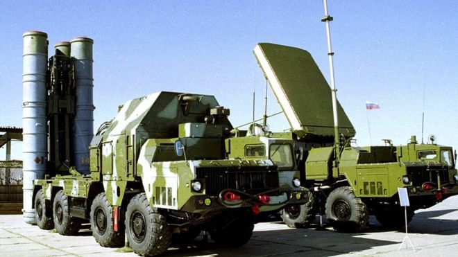 2016-10-04 Russia has confirmed it has sent an S-300 air defence missile system to its naval base in Syria's port of Tartus.