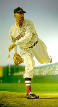 Lefty Grove of the Boston Red Sox by Arthur K. Miller.
