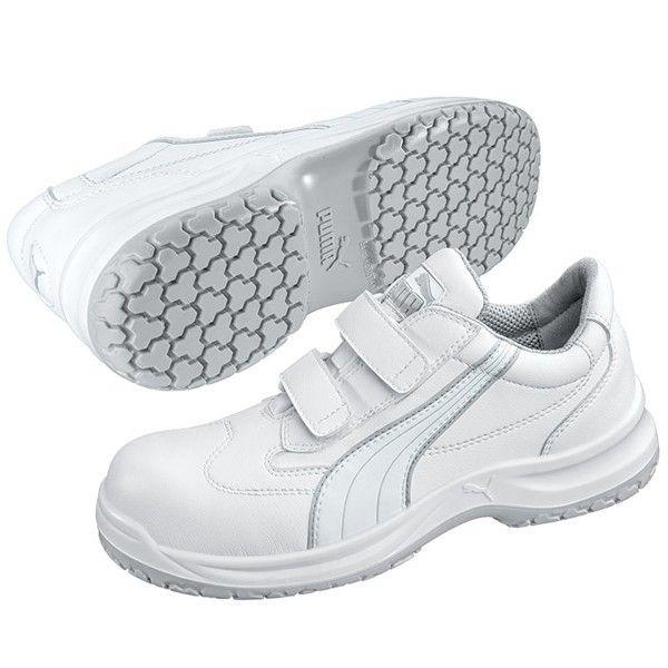 Puma Arbeitsschuhe S2 Klettverschluss - GenXtreme - #atmungsaktiv #weiß #microfaser #komfort #rutschfest #klettverschluss #puma #arbeitsschuh #genxtreme #workwear #and #outdoor