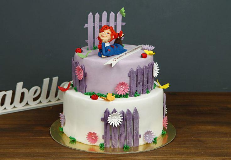 """Детский торт """"Девичьи мечты""""  Торт в летнем стиле с фигуркой мечтающей девочки станет отличным подарком для девчонок, которые обожают мечтать и воплощать свои мечты в реальность😄 Удивите вашу именинницу интересным и красочным тортом, который будет включать в себя все самые заветные мечты и пожелания виновницы торжества!  Изготовление тортика как на фото возможно от 2-х кг всего за 2150₽/кг. Стоимость изготовления #фигуркиизмастики девочки 500₽  На фото представлен 2-х ярусный торт весом 4…"""
