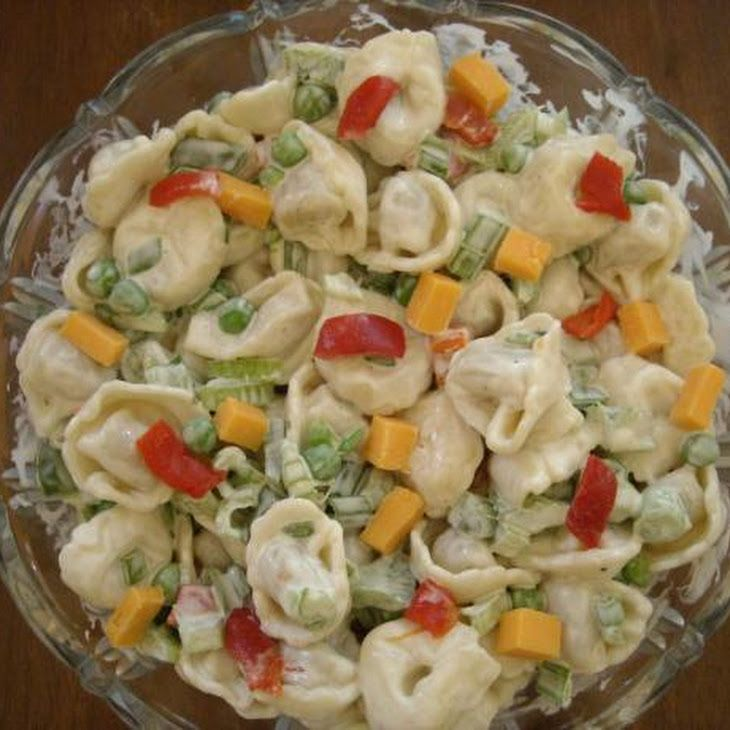 Super Simple Tortellini Salad | Recipe | Tortellini Salad, Super ...
