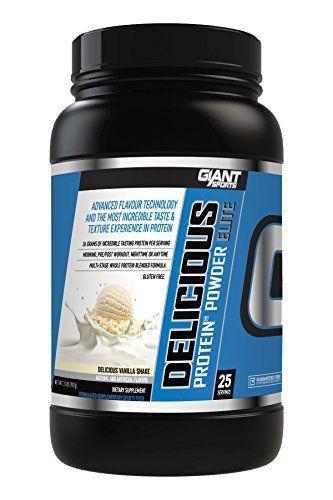 Giant Sports Delicious Casein Protein Vanilla Shake, 2 Pound //Price: $35.99 & FREE Shipping //     #hashtag1