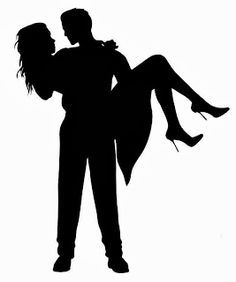 Silhouettes on Pinterest | Silhouette, Couple Silhouette and ...