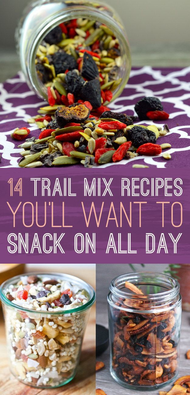 DIY 14 Super Creative Trail Mixes Recipes That Will Transform Your Snack Game #diy #trailmix #recipe