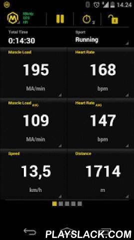 Mbody Live  Android App - playslack.com ,  Mbody Live is the first ever mobile app to track your muscle performance - in real time, in real environment, and in real sports activities. It is a sports tracker software with the most comprehensive information on your athletic performance: muscle load, heart rate, speed, cadence, route etc. Explore a totally new dimension in sports & exercise analysis.Features:- Muscle Load*, Muscle Balance*, Heart Rate**, Cadence & more- Distance, Speed…