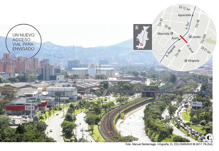 Puente entre Envigado e Itagüí tiene cinco proponentes