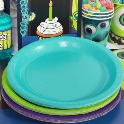 Monsters Inc Coordinating Lunch Plate Set (24)