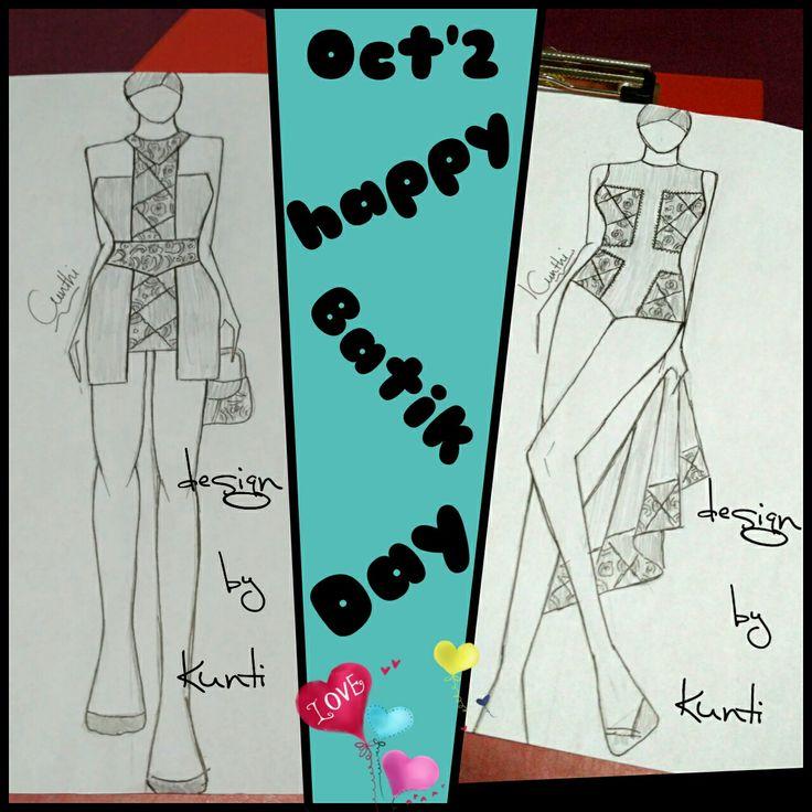 #haribatiknasional #happybatikday #batik