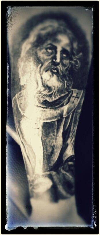 St peter tattoo