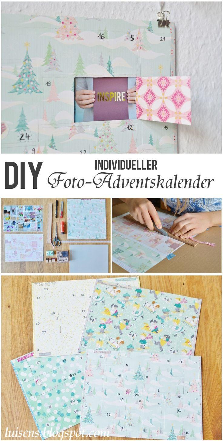 25 einzigartige adventskalender mit foto ideen auf pinterest diy geschenkideen mit fotos. Black Bedroom Furniture Sets. Home Design Ideas