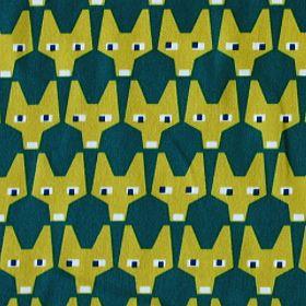 BRITA(ブリタ)社生地(布)RUT(ラット/きつねのお顔柄)商品画像
