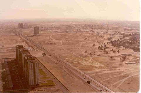 1990 Dubai Architecture