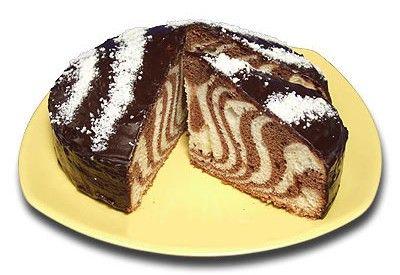 Рецепты торта зебра с фотографиями