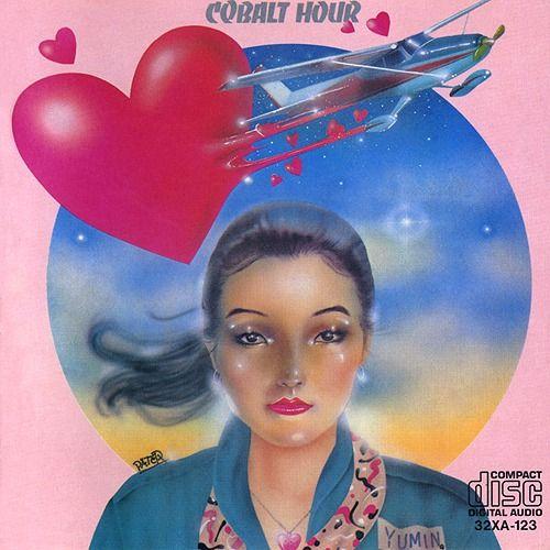 1987.02.25 Yumin (Yumi Arai 荒井由実 / Yumi Matsutoya 松任谷由実) - Cobalt Hour [Alfa 32XA-123] #albumcover #portrait