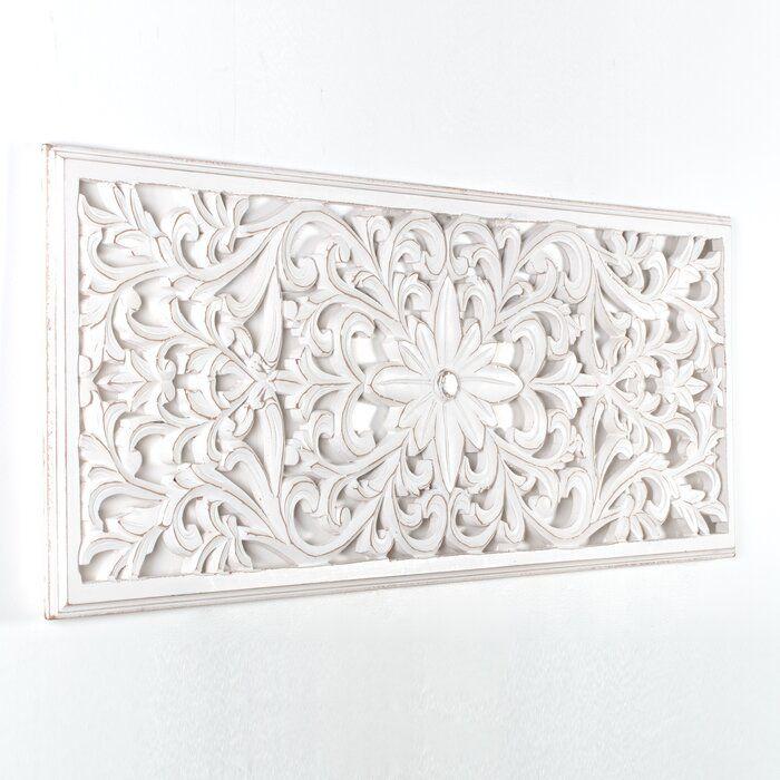Ophelia Co Medallion Wall Decor Reviews Wayfair In 2020 Wall Medallion Medallion Wall Decor Wooden Wall Art