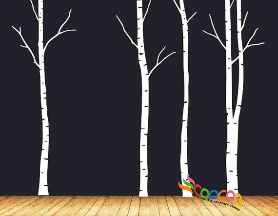 1000 id es propos de stickers muraux arbre sur for Autocollant mural arbre