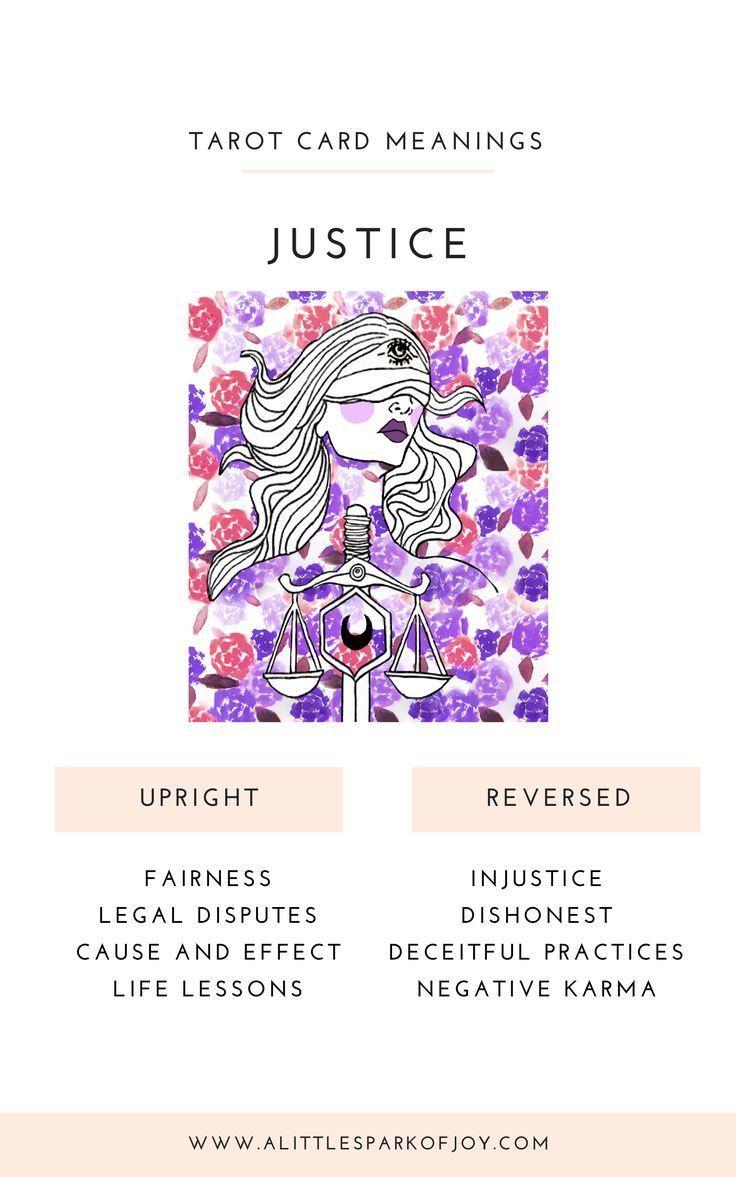 Justice Tarot Meaning Justice Tarot Tarot Card Meanings Tarot Cards Major Arcana