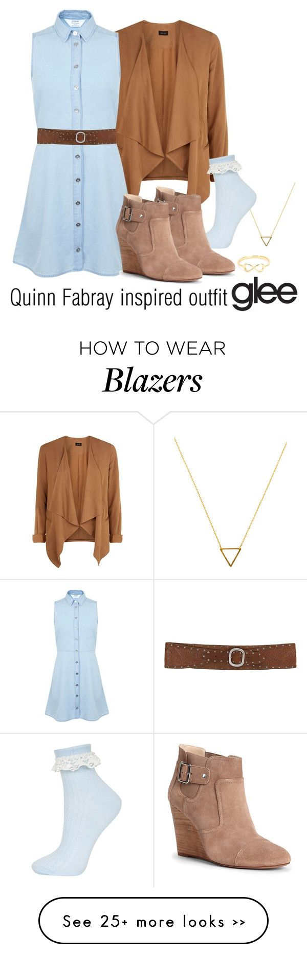 """Quinn Fabray inspired outfit/GLEE"" by tvdsarahmichele on Polyvore"