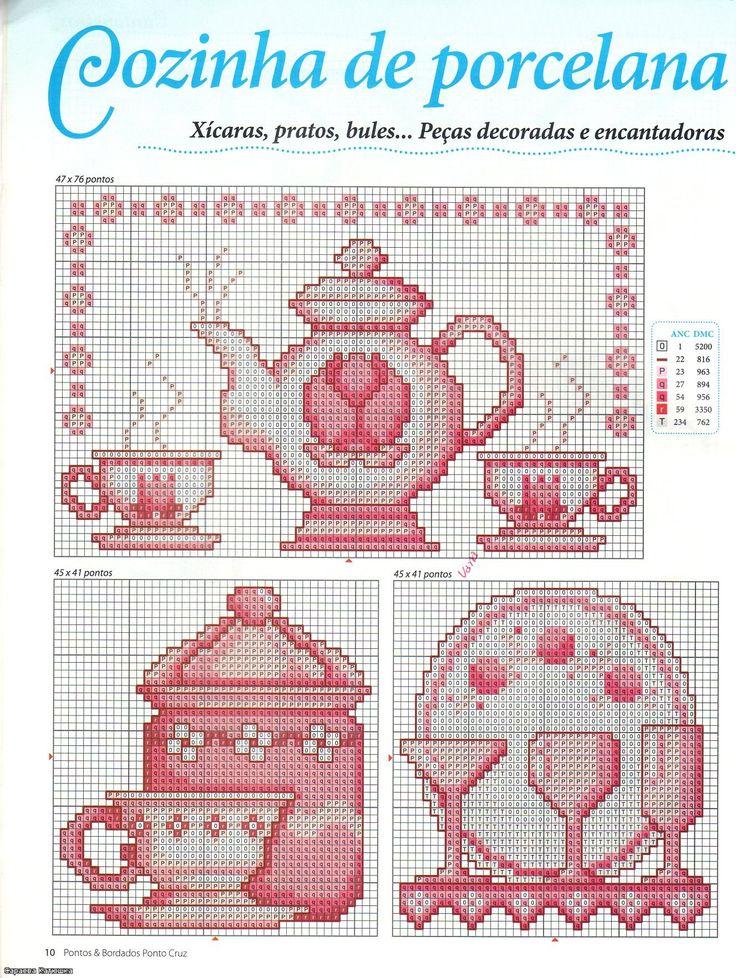 kitchen cross stitch
