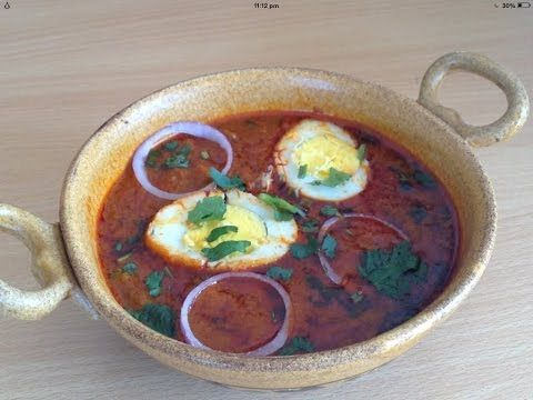Dhaba Style Egg curry or Anda Curry Recipe By Chef Shaheen - YouTube