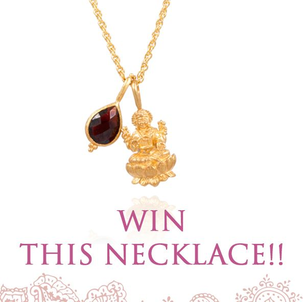Need some cheering up? We are giving away a Jai Ma Necklace!! Click on this link https://anandasoul.com/blogs/blog/self-worth-giveaway to enter! Good luck gorgeous!!! 💖 • To celebrate this sense of self-love we are giving away a Jai Ma necklace. Lakshmi is the goddess of abundance, beauty, love and generosity. • We will announce the winner via email on November 30th, 2016
