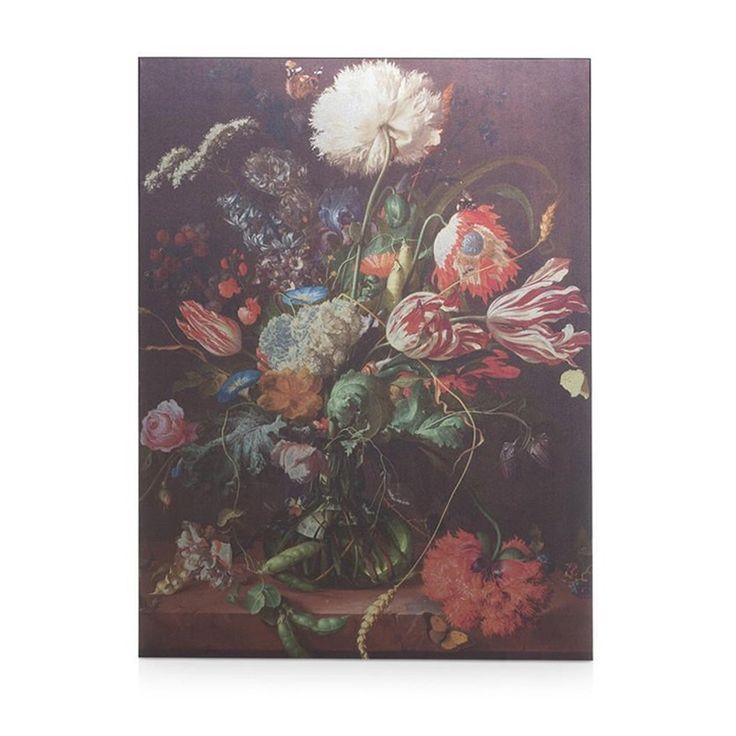 Flower schilderij van COCO maison shop je bij deleukstemeubels.nl | Deleukstemeubels.nl
