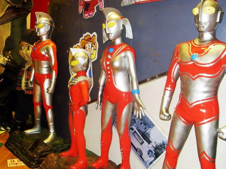 nice to meet you, Ultraman Tiga Family!  @Okinawa, Japan, Costa Classica