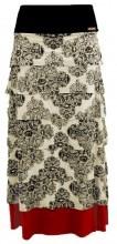 Olkapolka Long Frill Skirt