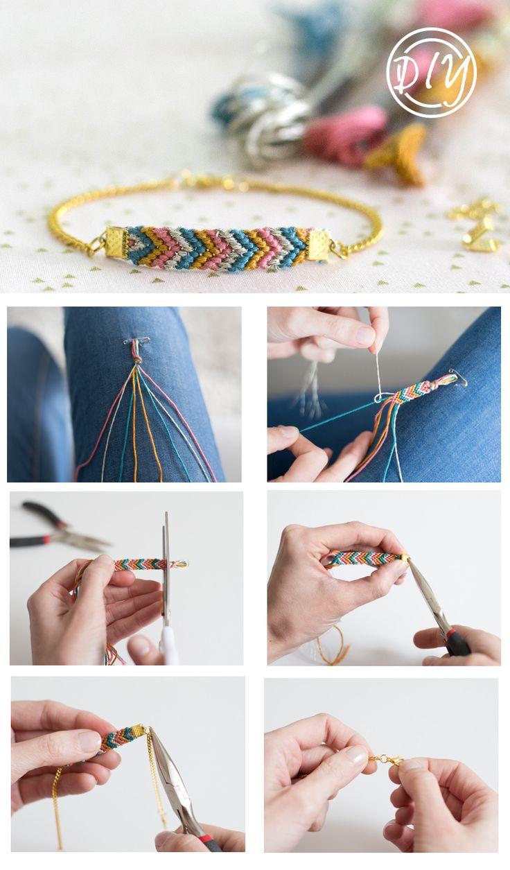Le tutoriel du bracelet brésilien revisité