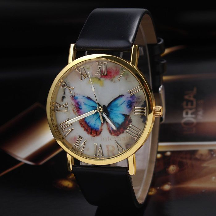 Relogio Feminino 2016 Luxury fashion women leather watch 3 styles of high grade…