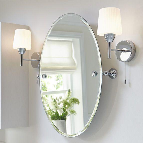 1000 Ideas About Oval Bathroom Mirror On Pinterest Half