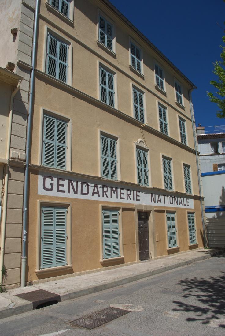 La fausse gendarmerie de Saint Tropez (var, France)