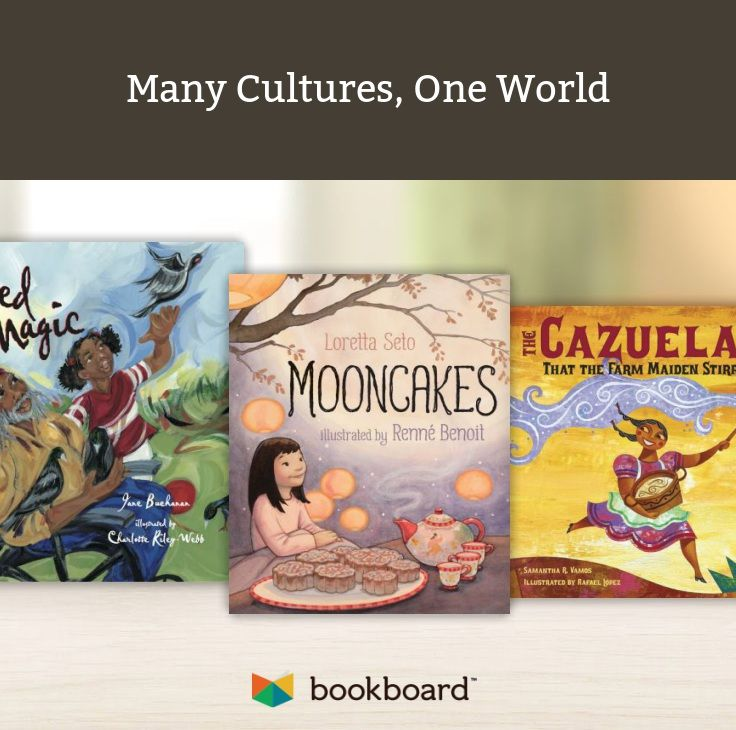 Happy Fall! Celebrate the Chinese Mid-Autumn Moon Festival with mooncakes and enjoy the world's variety of cultures and traditions through these books.