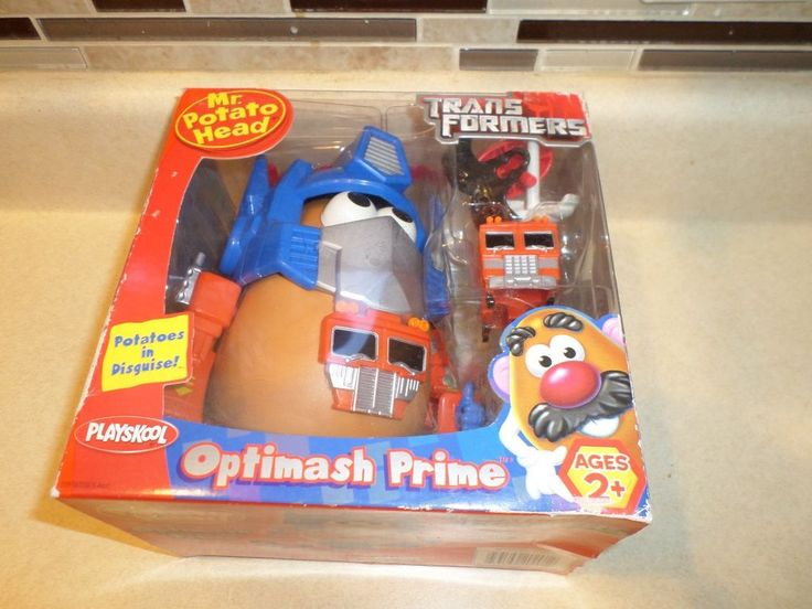Mr. Potato Head - TRANSFORMERS OPTIMASH PRIME SEALED NEW