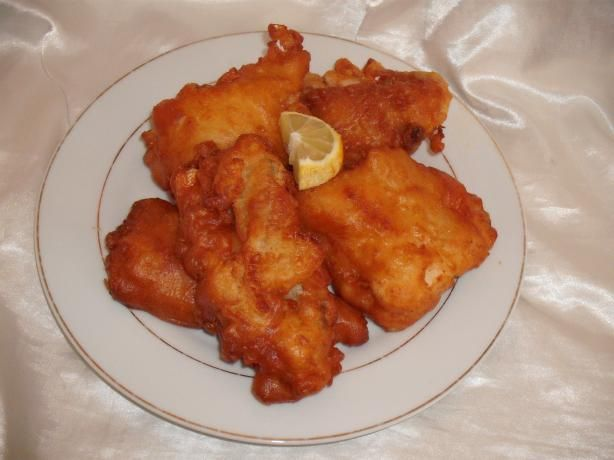 Battered Fish - Like the Fish & Chip Shop!. Batter is good for frying anything!
