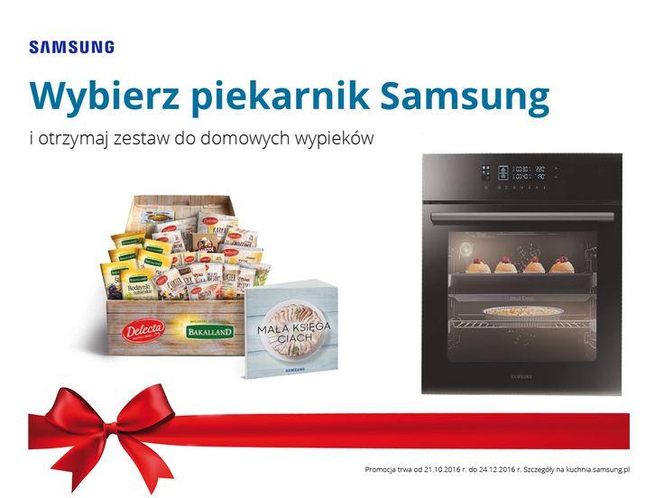 Rusza nowa promocja #Samsung, dedykowana miłośnikom słodkości i nie tylko! Każdy, kto kupi wybrany model piekarnika, otrzyma zestaw do domowych wypieków 😍😍.  ➡ Więcej informacji na: http://bit.ly/PromocjaSamsung2016