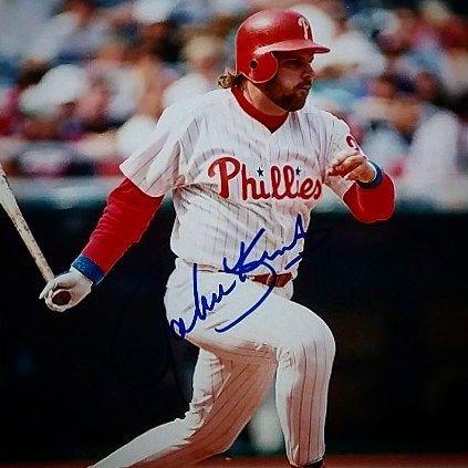 John Kruk - Philadelphia Phillies - - - #autograph #autographs #autographed #memorabilia #sportsmemorabilia #collectibles #signed #signedphoto #johnkruk #mlb #sandiego #padres #sandiegopadres (1986-1989) #philadelphia #phillies #philadelphiaphillies (1989-1994) #chicago #whitesox #chicagowhitesox (1995)