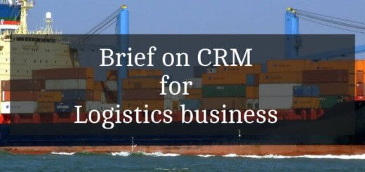 All about Logistics CRM in brief! #LogisticsCRM#Productivity
