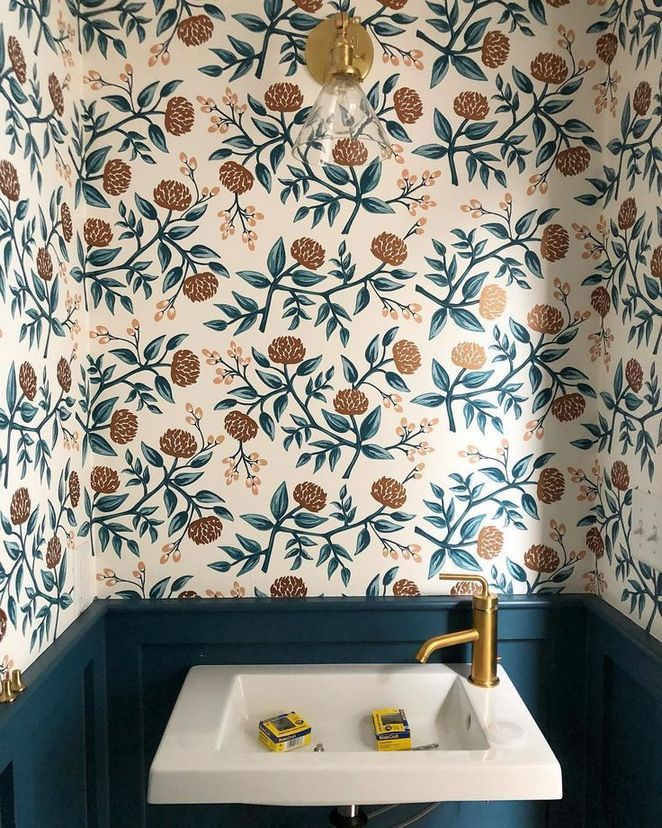 40 What Absolutely Everyone Is Saying About Bathroom Wallpaper Ideas And What You Should Be Bathroom Wallpaper Room Wallpaper Bathroom Decor