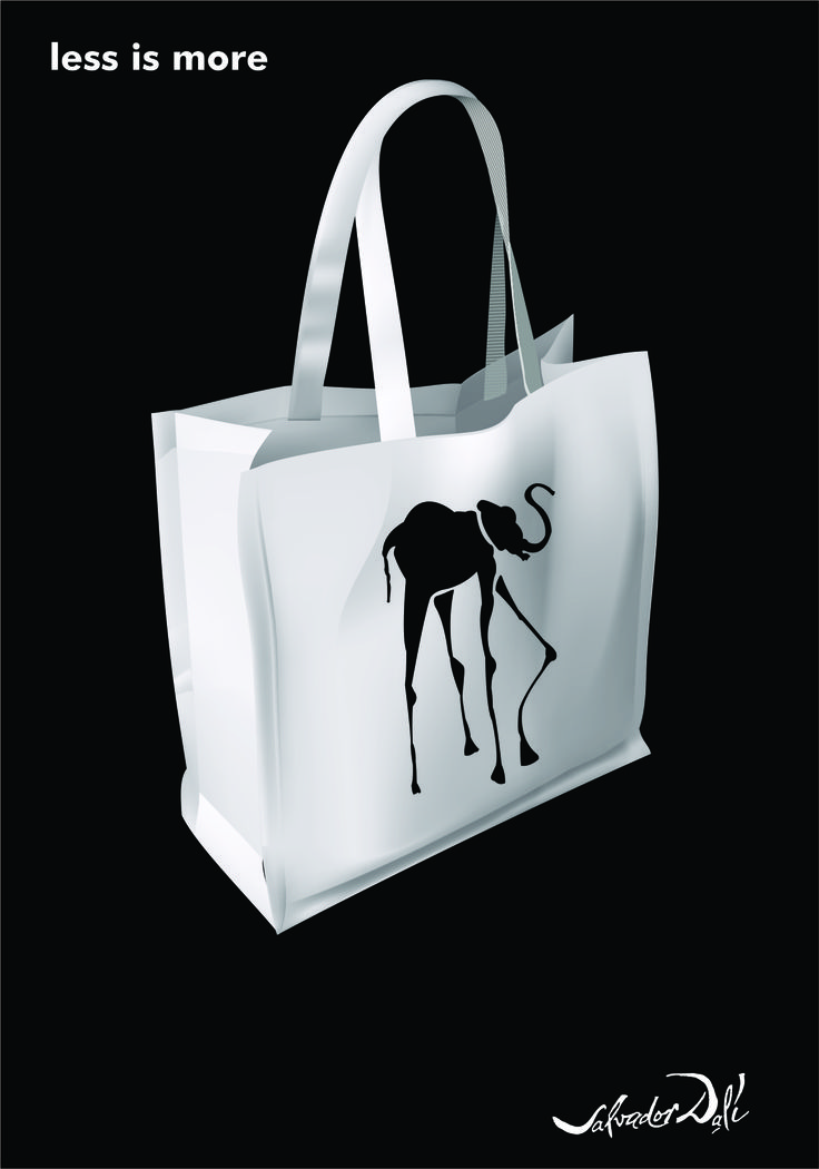 Dali Less is more # Recycle Bag # Coming soon