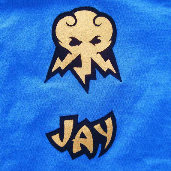 tshirt Lego Ninjago Jay the blue ninja inspired